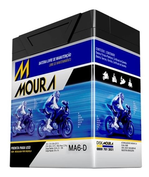 Bateria Moura 6ah Cb 300 Cb300 R Cb 300r Cb 300r Flex Ma6-d