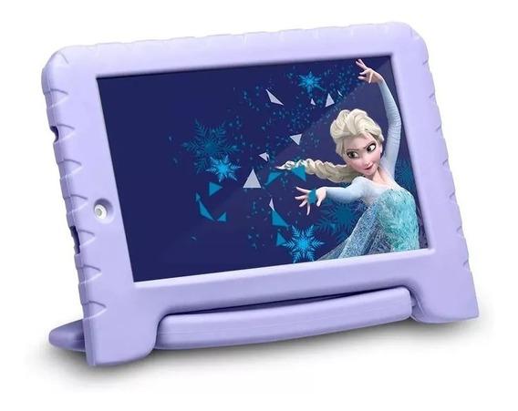 Tablet Disney Frozen Plus Wi Fi Tela 7 Pol. 16gb Quad Core + Fone ( Brinde )