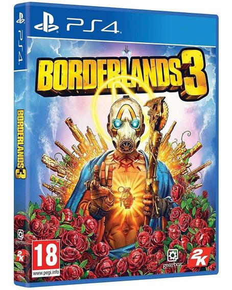 Jogo Borderlands 3 Ps4 Midia Fisica Novo Lacrado Português