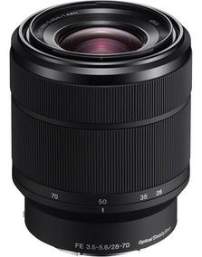 Lente Sony Sel Fe 28-70mm F3.5-5.6 Oss Fullframe A7r A7 A7s