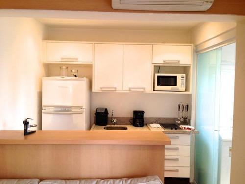 Imagem 1 de 27 de Flat Locação - Diogo Home - Mobiliado - Ao Lado Do Parque Do Ibirapuera - Fl1299