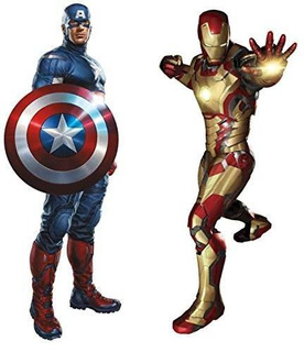 Marvel Superheroes Avengers Comic - Civil Wars - Capitán A