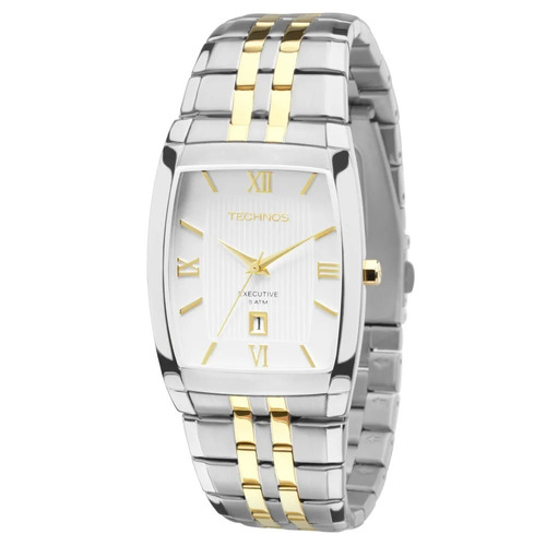 Relógio Technos Masculino Classic Executive 1n12mq/5b Promoç