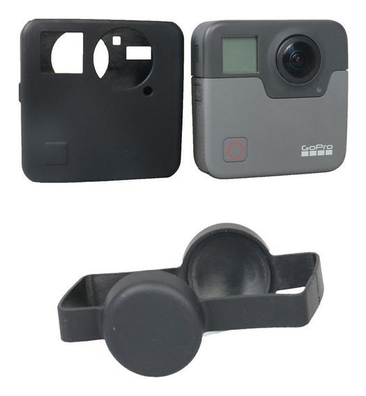 Tampa Capa Protetora Silicone P Câmera Gopro Fusion 360