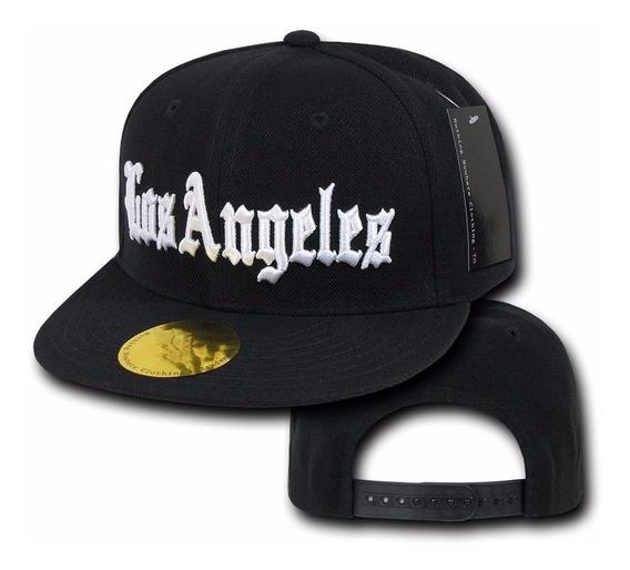 Gorra Los Angeles Estilo Hip Hop Rap Snapback Ajustable