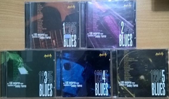 Lote De 5 Cd: Los 100 Mejores Temas De Blues