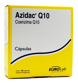 Eurolab Suplemento Dietario Azidac Q10 Con Coenzima Q10