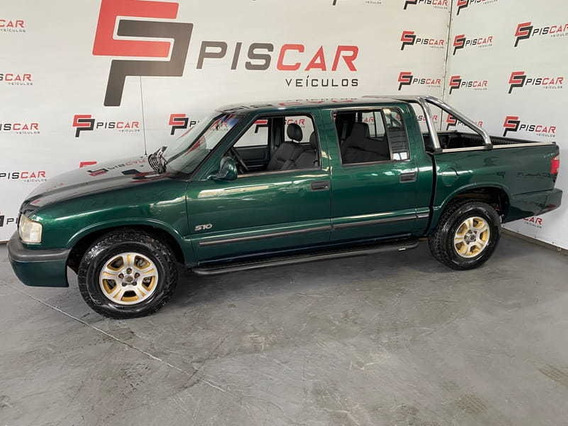Chevrolet S10 2.8 Std Cab. Dupla 4x2 4p 2000 Top !!!