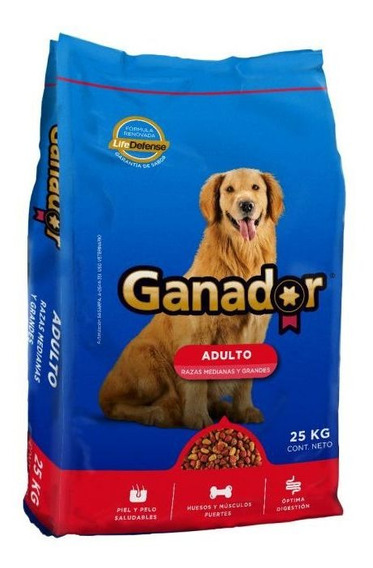 Ganador Alimento Perro Adulto 25 Kg