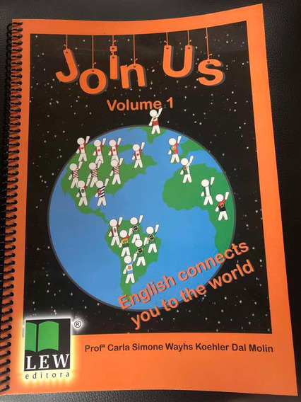 Livro Inglês Join Us Volume 1 Ensino Fundamental