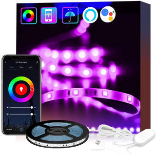 Luces Led Usb D 5v Para Habitación Wifi Inalámbrico 5050rgb