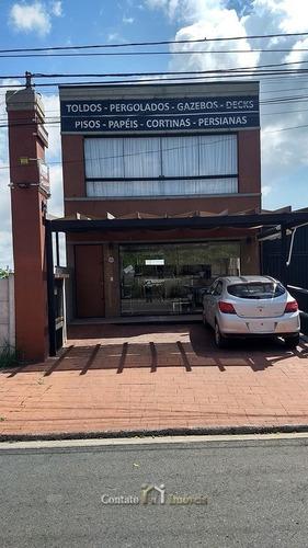 Imagem 1 de 10 de Prédio Comercial Com Apartamento Venda Atibaia - Pn0001-1