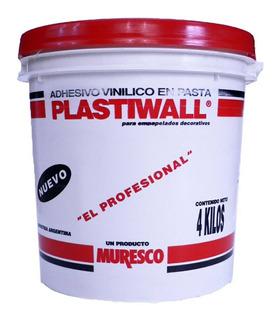 Adhesivo Plastiwall 4kg Para Empapelado Muresco