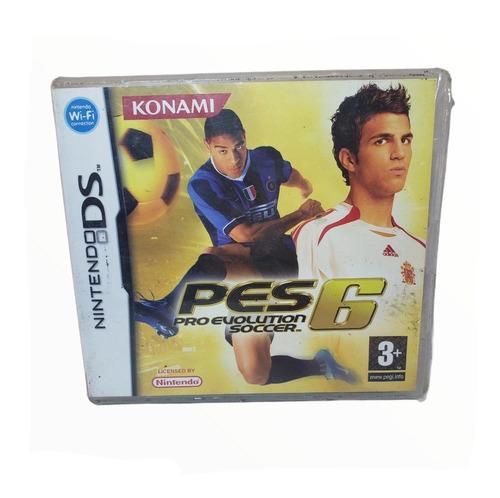 Imagen 1 de 4 de Juego Pes 6 Pro Evolution Soccer Físico Sellado Nintendo Ds