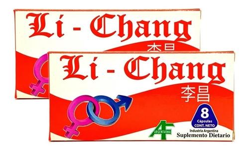 Imagen 1 de 7 de Li Chang X 8 Capsulas - Vigorizante Masculino.
