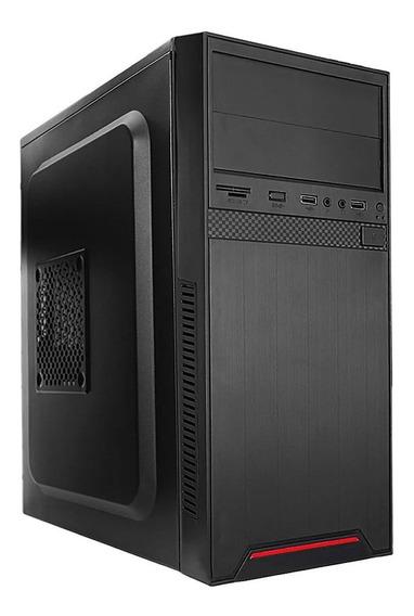 Pc Escritoório Intel I5, 4gb Ddr3, Ssd 120 ,gabinete E Fonte