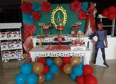 Alquiler Mesa Candy Bar, Pallet, Decoracion Globos,figuras
