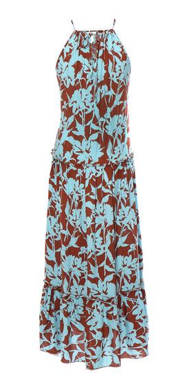 Vestido Largo De Mujer C&a Olán En Falda