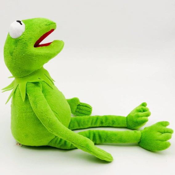 Pelúcia Muppets Sapo Caco Kermit 40 Cm