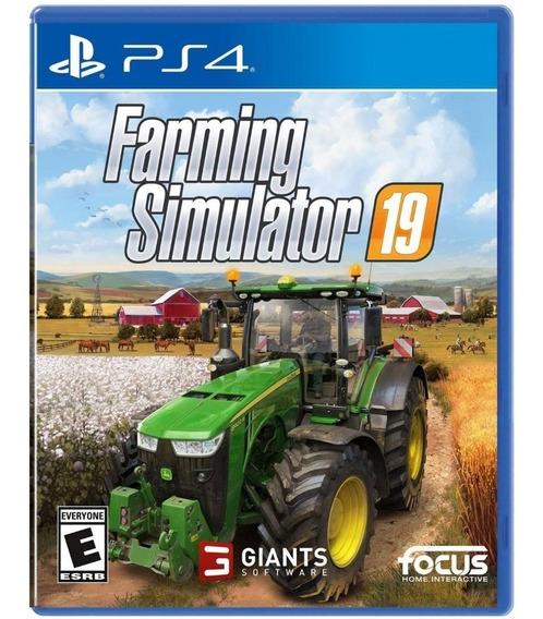 Jogo Ps4 Farming Simulator 19 Pt-br (usado) Mídia Física