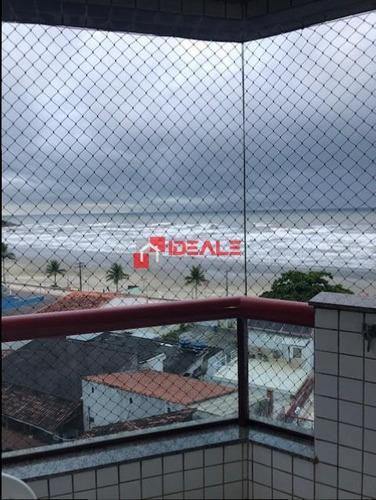 Imagem 1 de 15 de Lindo Apartamento 3dorm Suíte Vista Mar E Lazer Completo - 550