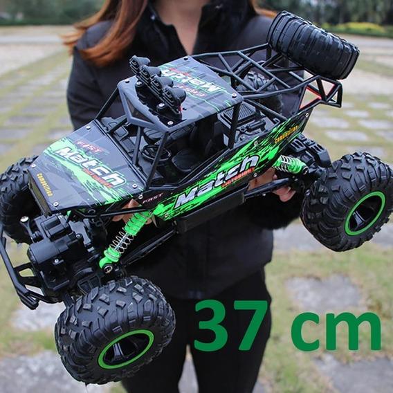 Carrinho Remoto Pick-up Road 4x4 Controle 37cm 12x Sem Juros