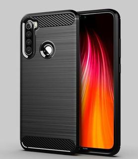 Capa Case Protetora Tpu Carbon Fiber   Xiaomi Redmi Note 8