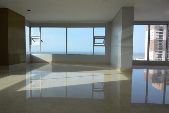 Penthouse En Riomar Barranquilla 260 M2, 3 Hab, 6 Bñs 3 Parq
