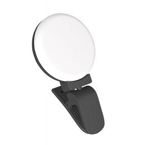 Leve Led Selfie Anel Luz Foto Luz Clipe -on Compensar Beleza