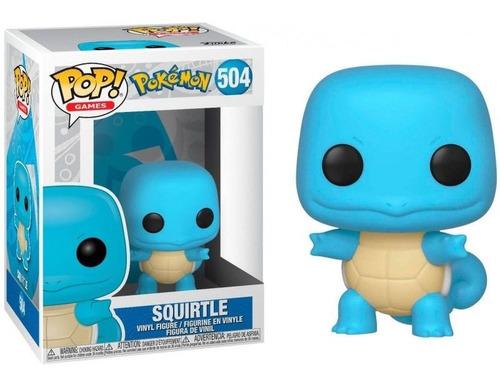 Boneco Funko Pop Games Pokémon Squirtle - #504