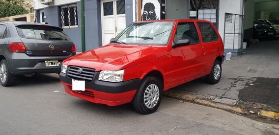 Fiat Uno Fire Way 1.3 N 3 Ptas Rojo 2008