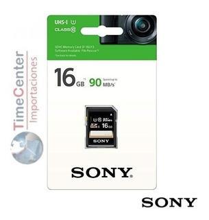 Memoria Sd Sony 16gb, Para Camara