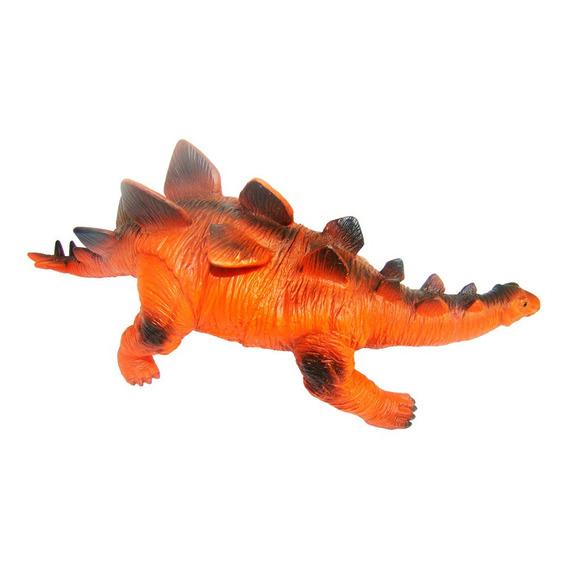 Dinossauro Estegossauro De Borracha E Macio Jurassic Enfeite