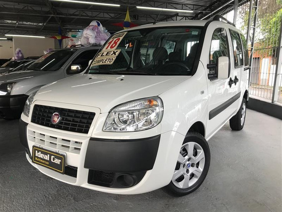 Fiat Doblo Essence 1.8 Flex 4p 7 Lug Manual 2018