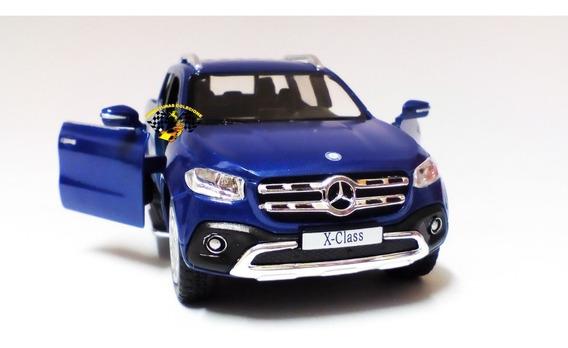 Miniatura Mercedes-benz X-class Pickup Azul 1:42 Kinsmart
