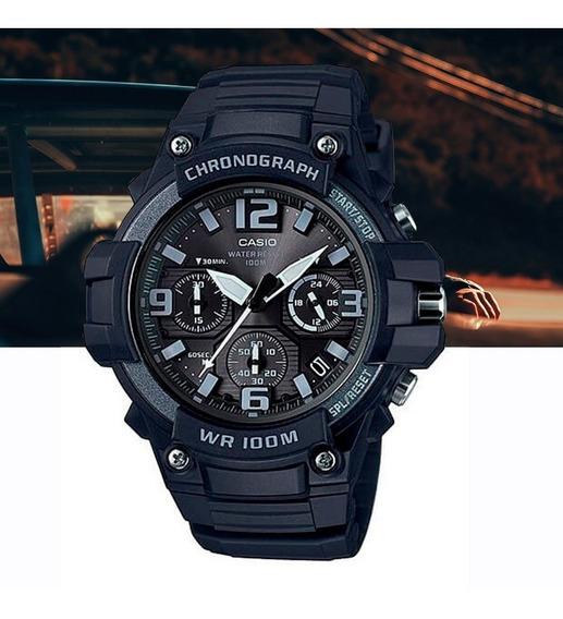 Relógio Casio Standard Masculino Mcw-100h-1a3vdf Preto