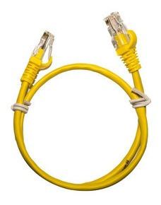 Imagem 1 de 9 de Cabo Patch Cord Kit Com 40 Amarelos + 10 Vermelhos De 20cm