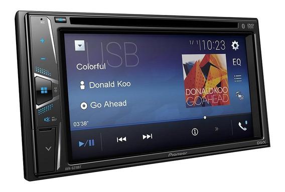 Dvd Automotivo Pioneer Avh G218bt 6.2 Polegadas Bluetooth
