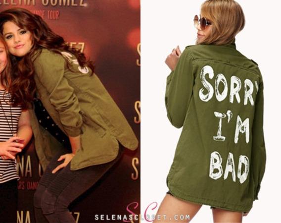 Campera Camisa Militar Forever 21 Sorry Im Bad