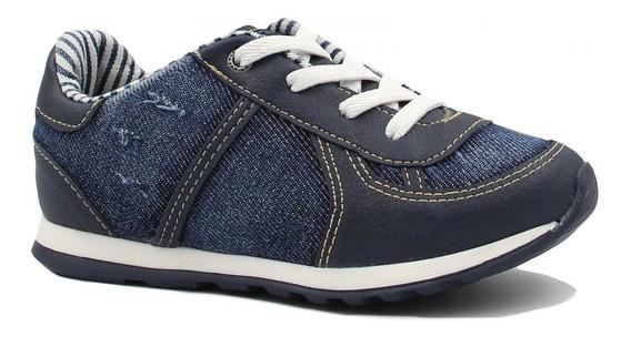 Tênis Infantil Xuá Xuá Casual Jeans 042015