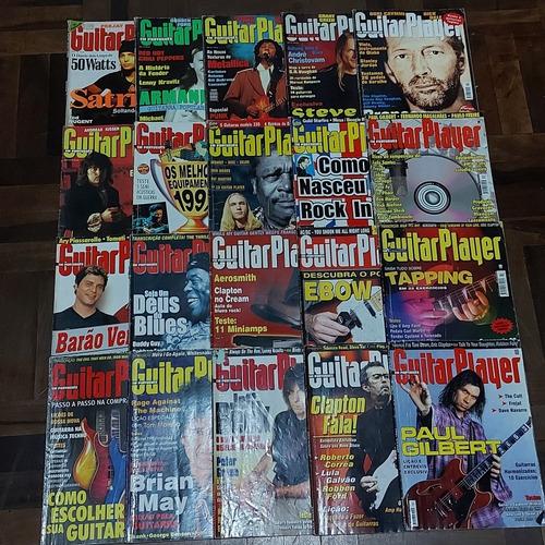 Lote 28 Revistas Antigas Guitar Player Ano 1 Ao 14