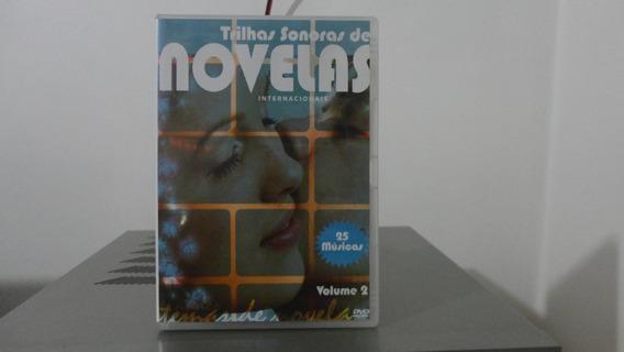 Trilhas Sonoras De Novelas Vol.2 # Dvd Novo Original #fret10