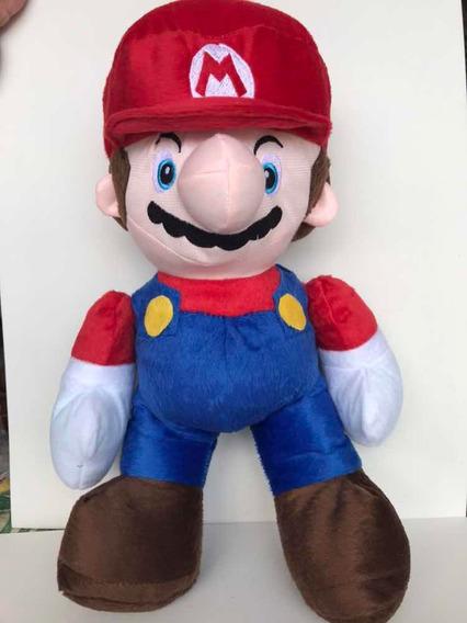 Super Mário Pelúcia Super Mário Bross 50cm