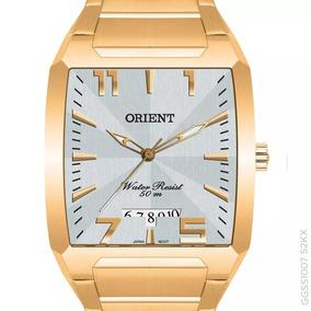 Relógio Orient Original Dourado Original Ggss1007 S2kx + Nf
