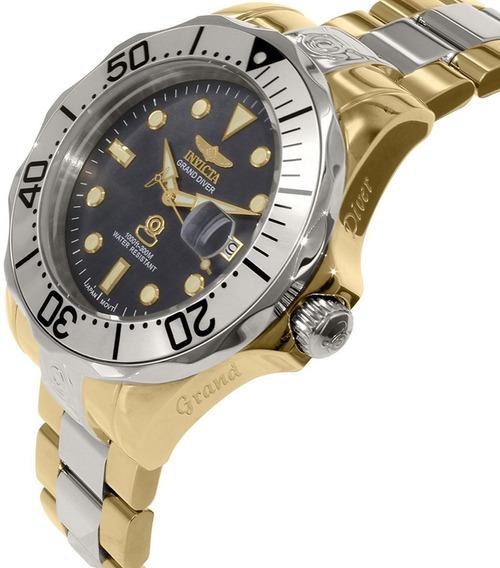 Invicta Grand Diver 16034 Automatico Orig 47 Mm Duo Color
