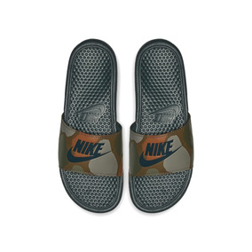 Chinelo Nike Benassi Just Do It Print Masculino