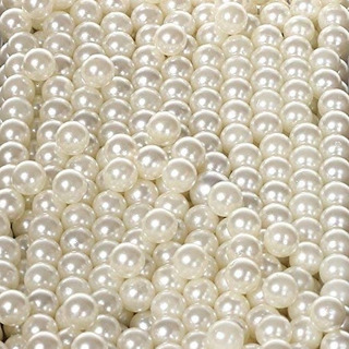 1000 Perlas De 6mm Color Natural