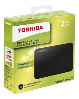 Disco Duro Externo 2tb Toshiba Canvio Basics - Usb 3.0