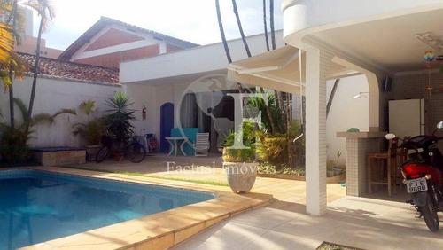 Casa Com 3 Dormitórios À Venda, 200 M² Por R$ 1.000.000,00 - Enseada - Guarujá/sp - Ca3140
