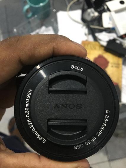 Lente Sony Pz 16-50mm 3.5-5.6 Oss